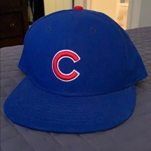 Chicago Cubs 59/50 Fitted Hat. 7 1/8.